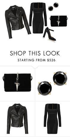 """Untitled #27"" by dadulla on Polyvore featuring Cesare Paciotti, IRO, Balmain and Alexander White"