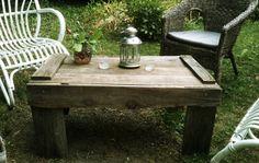 Fabriquer une table de jardin