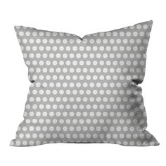 Puantiyeli Desen - Kırlentler - Cipcici Polka Dot Top, Throw Pillows, Grey, Women, Gray, Toss Pillows, Women's, Decorative Pillows, Woman