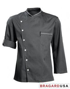 2e30b81d6e6 Chicago Chef Jacket - Charcoal
