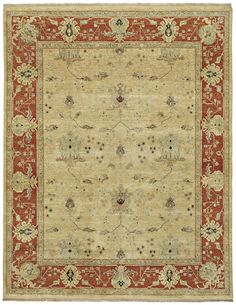 Ruislip Hand-Knotted Gold Area Rug