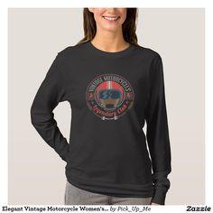 Elegant Vintage Motorcycle Women's t-shirt