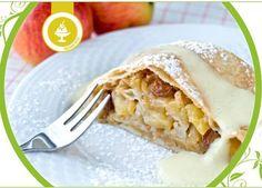 Jablkový štrůdl Apple Pie, Lasagna, Vegan Vegetarian, Food Porn, Veggies, Mexican, Ethnic Recipes, Desserts, Apple Strudel