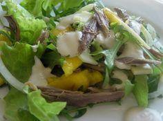 Salada de Pato e Manga - http://www.receitasja.com/salada-de-pato-e-manga/