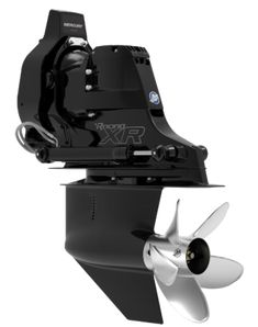 The Bravo One XR drive features the race-proven Bravo One gear housing packed with heavy-duty components for enhanced engine reliability and durability. Mercury Marine, Technical Drawing, Water Sports, Boating, Fighter Jets, Solar, Engineering, 1, Camping
