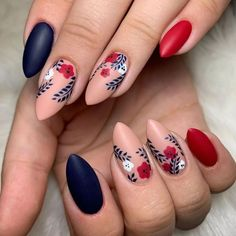 Spring Nail Art, Spring Nails, Summer Nails, Gorgeous Nails, Pretty Nails, Amazing Nails, Matte Nails, Acrylic Nails, Hair And Nails