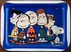 Vintage TV Tray Snoopy and The Peanuts Gang | eBay