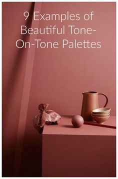 This is one of the most actual color trends for 2016/17. Tone-on-tone palettes simply features one main hue and then other graded tones within that scheme are added to match the color composition. You can work with different paint on your walls and complement with furniture, textiles and accessories. The trick is to stay just within one hue and make it a story with less contrast possible.
