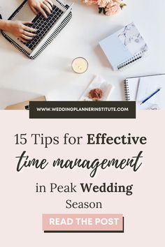 While organization and patience are crucial to your success as a wedding planner, none of it will come in handy if you don't master the art of effective time management. Time management skills are the unsung heros of the wedding sector. Effective Time Management, Time Management Skills, Wedding Coordinator, Wedding Planner, Work Goals, Industrial Wedding, Vintage Gifts, Wedding Tips, Wedding Season