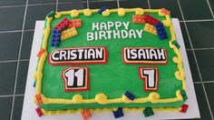 Any's Crazy Cakes - Lego Birthday Cake