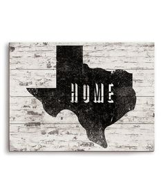 Love this Texas Is Home Wall Art on #zulily! #zulilyfinds