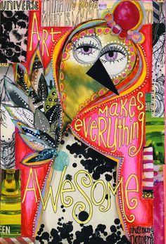Newer Journal Pages Art Journal Pages, Art Journals, Journal Sample, Moleskine, Mixed Media Journal, Mixed Media Collage, Collage Collage, Smash Book, Magazine Collage
