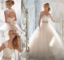 ZJ6004 2015 afneembare corset diamond Wit Ivoor formele Kristal Kralen Trouwjurken 2016 Bruids Jurk plus size elegante(China (Mainland))