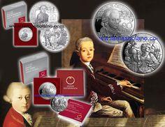 Tal día como hoy hace 261 años, Nace en Salzburgo (Austria), Wolfang Amadeus Mozart, compositor austriaco del periodo clásico. A los cuatro años será un niño prodigio que interpretará melodías sencillas en el clave y compondrá pequeñas piezas. Con el tiempo será uno de los músicos más influyentes en la historia de la música occidental y compondrá más 600 bellas obras que abarcarán casi todos los géneros de la época. Tienda: http://bit.ly/2kAcKjC