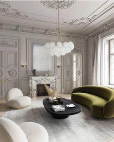 Interior Design Trends, Interior Design Minimalist, Interior Design Inspiration, Home Design, Interior Decorating, Modern Classic Interior, Classical Interior Design, French Interior Design, Decorating Kitchen