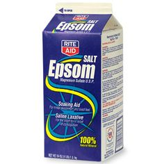 EPSOM SALT:  1)  Deter racoons; sprinkle epsom salt on & in your garbage cans to deter racoons.  2')  Greener lawn;      add 2 tablespoons of Epsom salt to a gallon of water and spray your lawn for a lusher, greener lawn.  3)  Clean floors; use Epsom salt and liquid dish detergent to clean floor tiles and dissolve dirt, a great cleaning boost!  4)  Plant Food; Add Epsom salt to feed tomatoes & peppers.  1 tbsp salt to a gallon water.  A wonder!