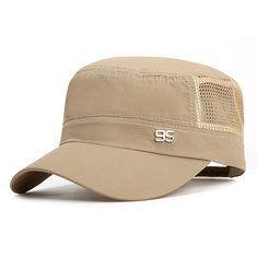 f6f5f197 Only US$9.69 , shop Mens Plain Quick-dry Snapback Flat Baseball Caps  Adjustable Outdoor Sport Hip-Hop Hats at Banggood.com. Buy fashion Hats &  Caps online.