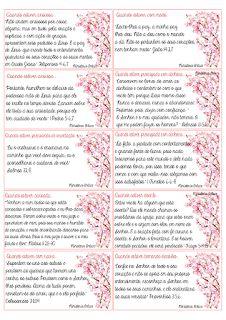 Ministério Enlace: Cartões de Oração para imprimir - Mulheres com Propósito