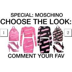 Choose the look #13 by grapefashion on Polyvore featuring polyvore, moda, style and Moschino