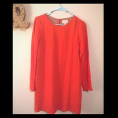 Red dress Adorable red long sleeved dress Dresses Long Sleeve