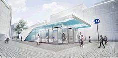stationsdesign u5 Competition, Louvre, Building, Travel, Architecture, Projects, Voyage, Buildings, Viajes