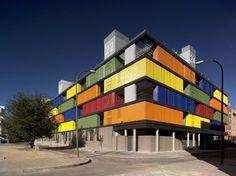 82 State subsidized housing building in Carabanchel, Madrid, 2009 - amann-canovas-maruri