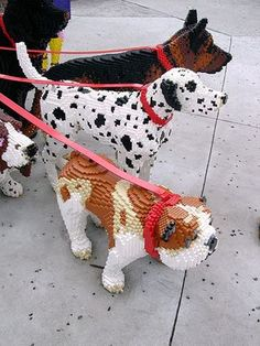 Lego Pets | Taken outside the Lego Store in Downtown Disney.… | Flickr