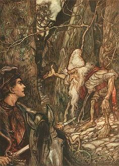 Arthur Rackham's Grimm's Fairy Tales