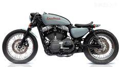Deus 1200 V-Twin cafe racer Harley-Davidson custom motorcycle
