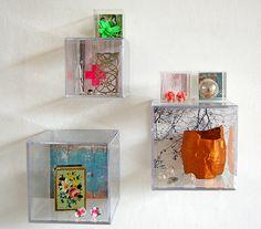 So wonderful: DIY shadow cubes in acrylic via Anthology Mag