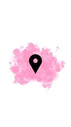 icu ~ Black and Grey Highlights, Highlight, Luminizer Instagram Blog, Pink Instagram, Print Wallpaper, Wallpaper Backgrounds, Iphone Wallpaper, Hight Light, Instagram Symbols, Insta Icon, Pink Themes