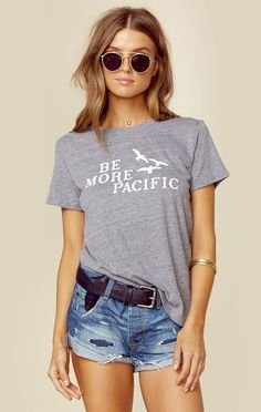 BE MORE PACIFIC LOOSE TEE