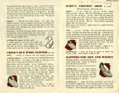 Fashion Artifacts  Make Slippers for the Whole Family, World War II-Style!
