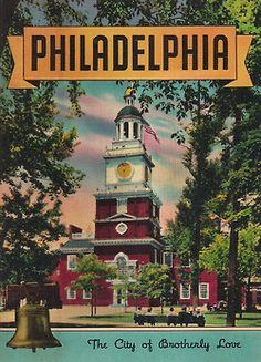 Image result for Philadelphia antique posters