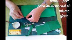 Scrapbooking en Español  - Tutorial Rasgado - Tecnicas Basicas - Mariela...