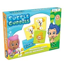 """Bubble Guppies - Memory Game - Editions Gladius - Toys""""R""""Us"""