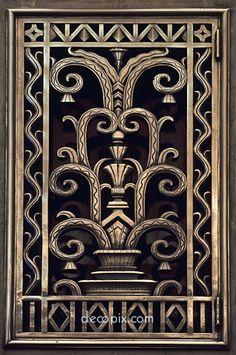 181 best Art Deco Metal Work images on Pinterest | Art deco art ...