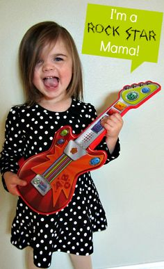 Pretend Play with LeapFrog Touch Magic Rockin' Guitar #LFTouchMagic #spon