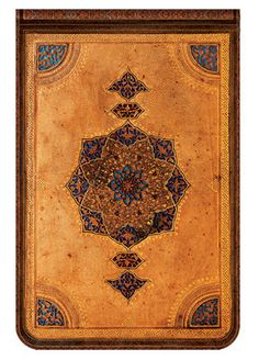 Paperblanks' Safavid journal design; now available in the Mini Reporter format   www.paperblanks.com