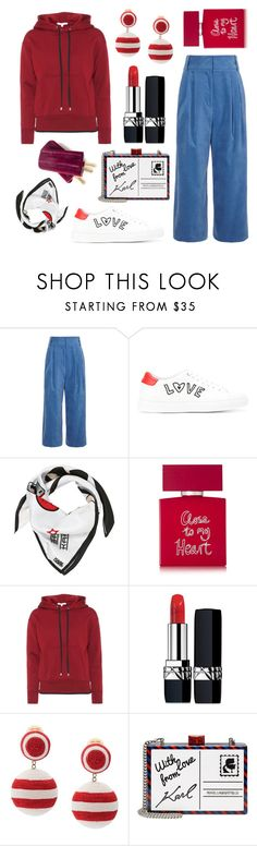 """""""law of attraction"""" by braincontortion ❤ liked on Polyvore featuring TIBI, Paul Smith, Karl Lagerfeld, Bella Freud, Helmut Lang, Christian Dior and Rebecca de Ravenel"""