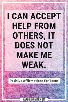 67 Positive Affirmations for Teens to Boost Self-Confidence