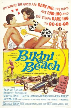 If you were born in 1964, that year Annette and Frankie made their 2nd Beach Party movie - this one was called Bikini Beach - Annette also stared the year you were born in Pajama Party - yet another one of the formula Party movies - (Frankie apparently didn't wear PJs - he wasn't  in Pajama Party! )