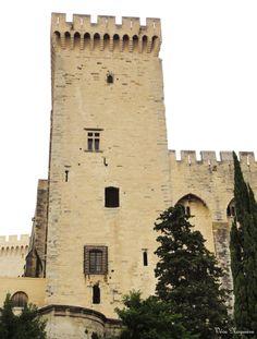 Palácio dos Papas (Palais des Papes),Avignon, França, Foto de Véva Nogueira