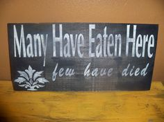 Kitchen Funny Primitive Shabby Chic Many by wrightsweepingwillow, $11.00