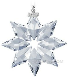 This will be my 8th year collecting these - LOVE THEM - Swarovski 2013 Christmas Ornament 5004489e