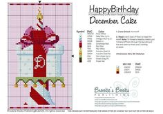 happy birthday December cake