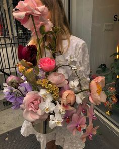 Happy birthday to one of my favorite angels - I hired her because I thought her name was ENYA. Spoiler: IT'S NOT. All Flowers, My Flower, Beautiful Flowers, Plants Are Friends, No Rain, Flower Aesthetic, Ikebana, Planting Flowers, Floral Arrangements