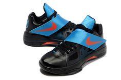 91d5da4cb879 Find Discount Nike Zoom KD Iv Mens Black Blue online or in Footlocker. Shop  Top Brands and the latest styles Discount Nike Zoom KD Iv Mens Black Blue  at ...