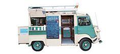Londons best gourmet food trucks from the Evening Standard Catering Van, Catering Logo, Food Truck Catering, Wedding Catering, Catering Ideas, Street Food Market, Best Street Food, Citroen Van, Mobile Food Trucks