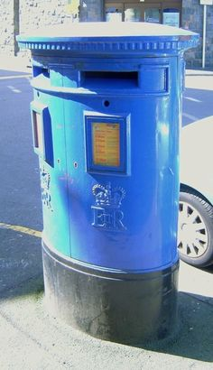 a Guernsey Pillar Box in St Peter Port, Channel Islands Channel Islands Uk, Guernsey Channel Islands, Guernsey Island, Pictures Of England, Bailiwick Of Guernsey, Norwegian Vikings, John Everett Millais, Island Pictures, Mail Boxes